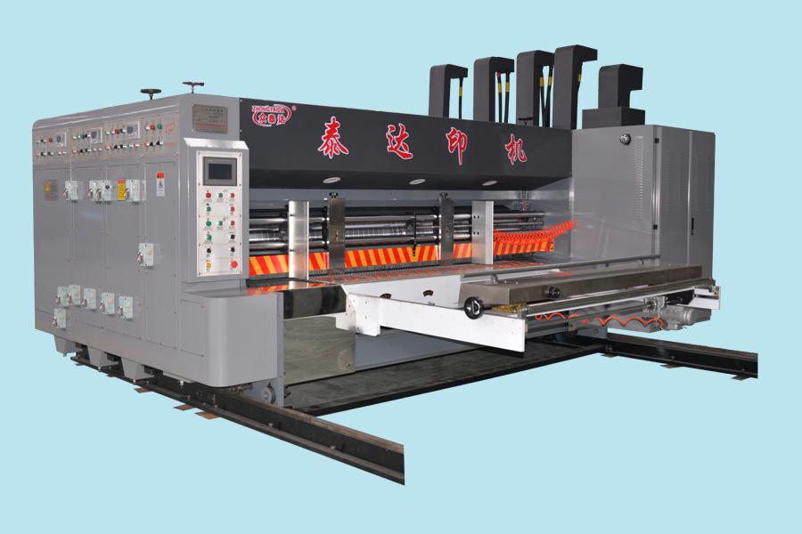 三色前缘中速水墨印刷机
