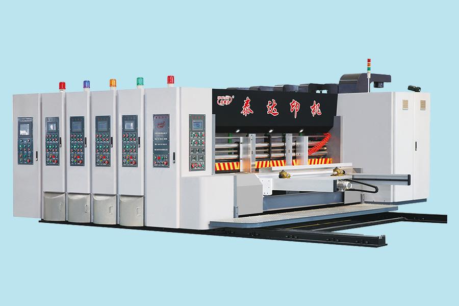 全数字调整高速水墨印刷开槽模切机(伺服驱动、前缘送纸)