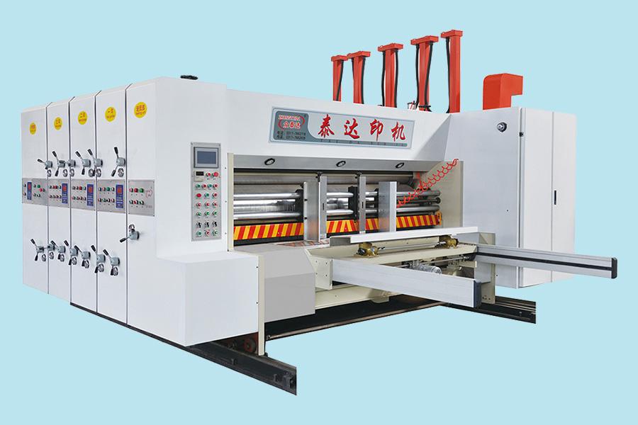 YFK-A系列水墨印刷分压开槽机(前缘高速机)