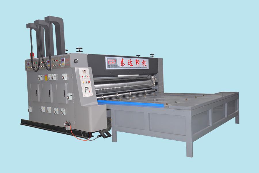 双色开槽水墨印刷机